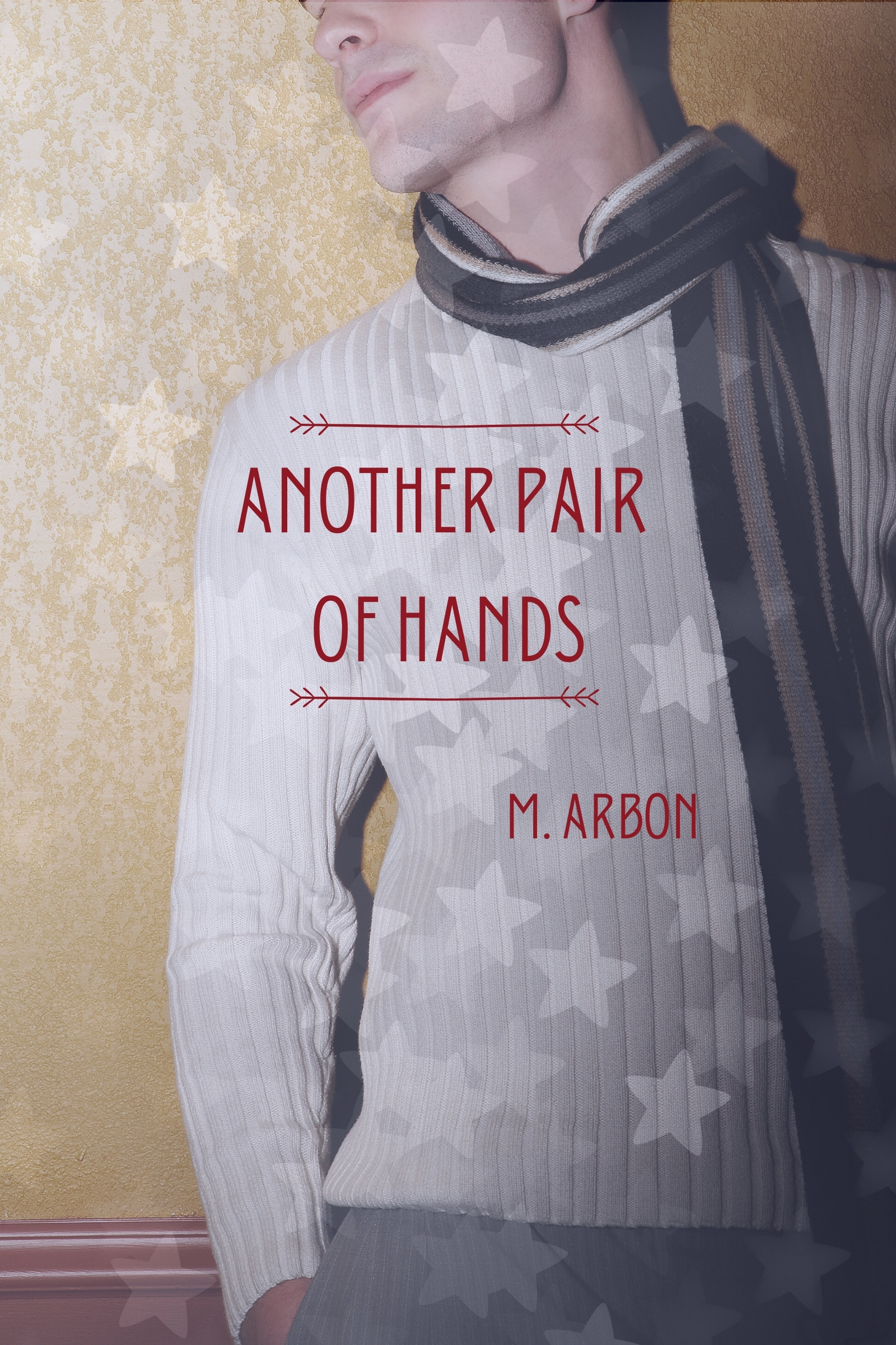 Cover of Another Pair of Hands, showing man wearing scarf